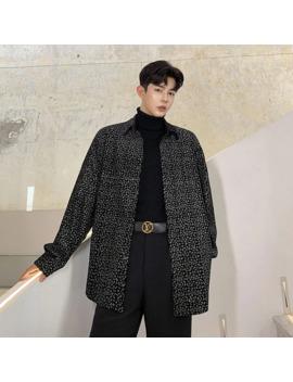 Men Autumn Winter Vintage Fashion Long Sleeve Velvet Thick Shirt Cardigan Male Loose Casual Streetwear Hip Hop Dress Shirt by Ali Express.Com