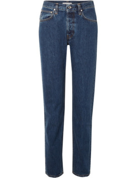 Masc High Rise Straight Leg Jeans by Helmut Lang