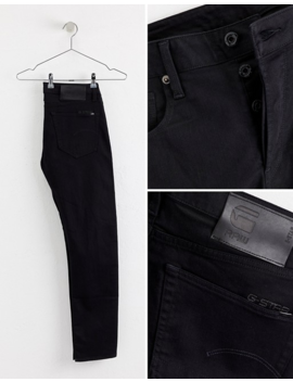 G Star 3301 Slim Fit Jeans In Rinsed by G Star