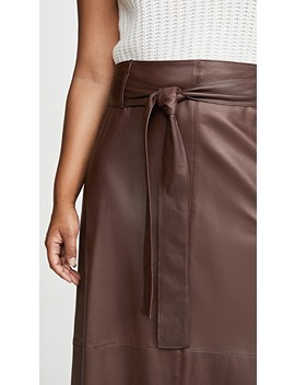 Leather Skirt by Vince