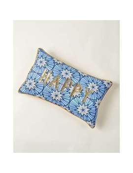 Star Happy Blue Cushion by Olivar Bonas