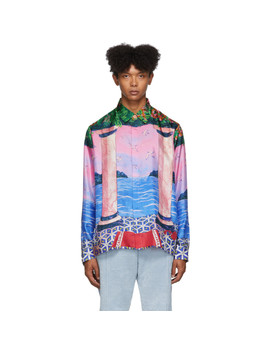 Multicolor Moca Sunset Shirt by Casablanca