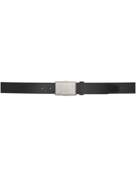 Black All Over Compartment Belt by Balenciaga