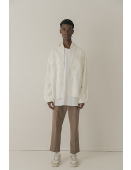 Cold Laundry Cream Synch Shirt by Cold Laundry