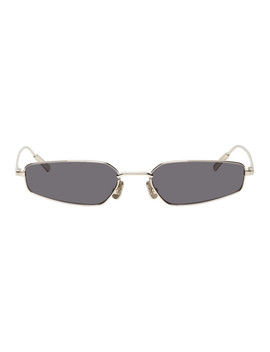 Silver & Black Astra Sunglasses by Ambush