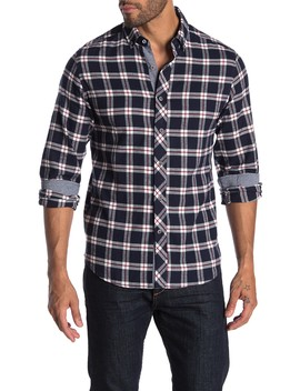 Plaid Long Sleeve Flannel Shirt by Heritage