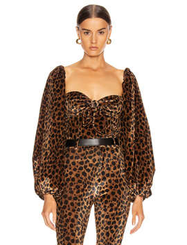 Leopard Top by Attico
