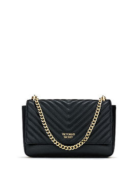 Pebbled V Quilt Bond Street Shoulder Bag by Victoria's Secret Accessories