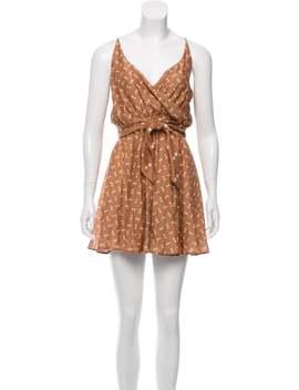Printed Mini Dress by A Peace Treaty