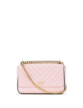 Pebbled V Quilt Small Bond Street Shoulder Bag by Victoria's Secret Accessories