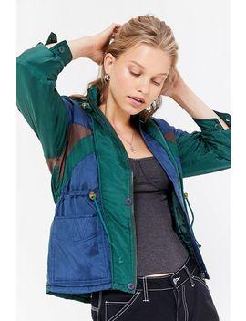Vintage Silky Windbreaker Jacket by Urban Renewal