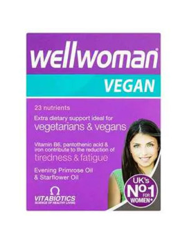 Vitabiotics Wellwoman Vitamins Vegan 60 Tablets by Superdrug