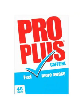 Pro Plus Caffeine Tablets 48s by Superdrug