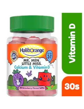 Haliborange Mr Men & Little Miss Calcium & Vitamin D Softies by Superdrug