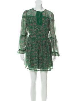 Printed Mini Dress by Rebecca Minkoff