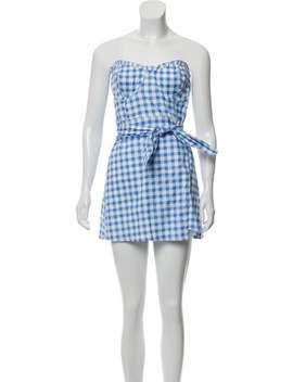 Gingham Mini Dress by For Love & Lemons