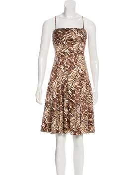 Printed Mini Dress by Just Cavalli