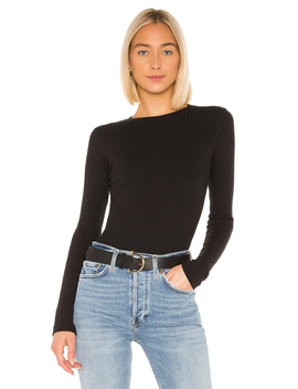 Ribbed Long Sleeve Bodysuit by Re/Done