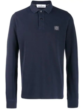 Chest Patch Polo Shirt by Stone Island