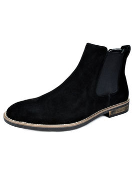 Bruno Marc Men Urban Suede Leather Chelsea Chukka Dress Ankle Boots Casual Shoes by Bruno Marc New York