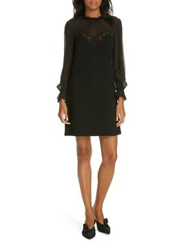 Crepe Lace Dress by Rebecca Taylor