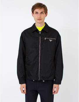 Nylon Gabardine Chest Pocket Jacket by Prada