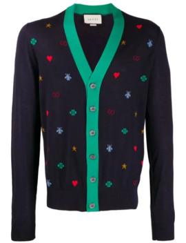 Vest Met All Over Symbolen by Gucci