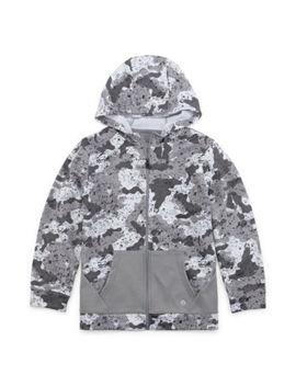 Xersion Boys Cuffed Sleeve Hoodie   Preschool / Big Kid by Xersion
