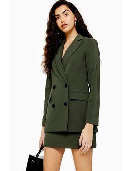 Khaki Suit by Topshop