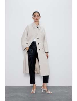 Coat With Pockets New Inwoman by Zara