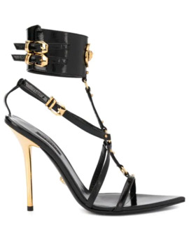 Medusa Strappy Sandals by Versace
