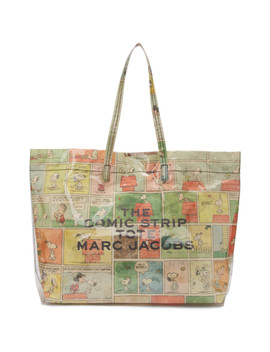 Multicolor Peanuts Edition 'the Comic Strip Tote' Bag by Marc Jacobs