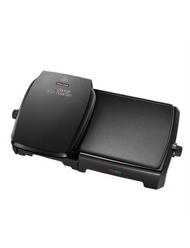 George Foreman 23450 10 Portion Entertaining Grill & Griddle by Robert Dyas