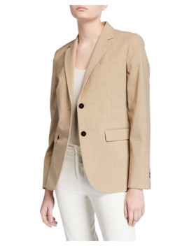 Classic Two Button Blazer by Theory