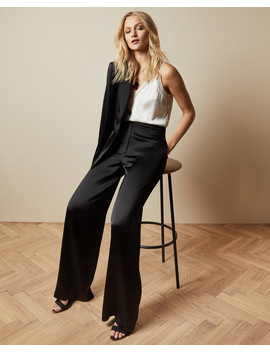 Satin Trousers by Ted Baker