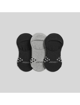 Jockey Generation Men's Diamond Cushion Comfort 3pk Liner Socks by Jockey Generation