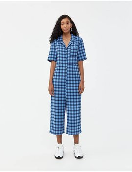 Sara Check Jumpsuit by Which We Want Which We Want