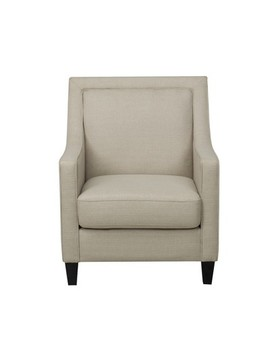 Harris Upholstered Chair With Piping   John Boyd Designs by John Boyd Designs