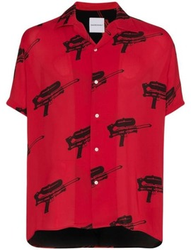 Water Blaster Print Shirt by Nasaseasons
