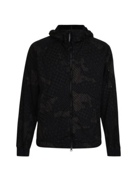 Camouflage Net Micro Lens Jacket by Cp Company