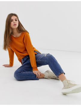 Only – Rose – Lose Gestrickter Pullover by Asos