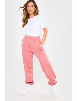 Pink Casual Joggers by In The Style