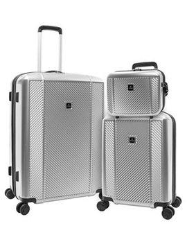 Spectrum 3 Piece Hardside Luggage Set by General