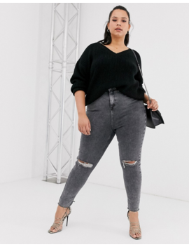 Micha Lounge Curve – Lässiger Pullover by Asos