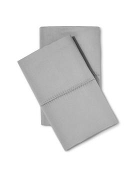 700 Thread Count Supima Classic Hemstitch Pillowcase Set   Fieldcrest® by Fieldcrest®