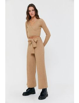 Uo Cora Cozy Knit Pant by Urban Outfitters