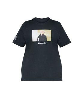 Plus Black Devil Wears Prada Slogan T Shirt  by Prettylittlething