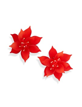 Flower Statement Earrings by Rachel Parcell