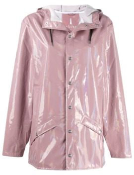 Hooded Raincoat by Rains