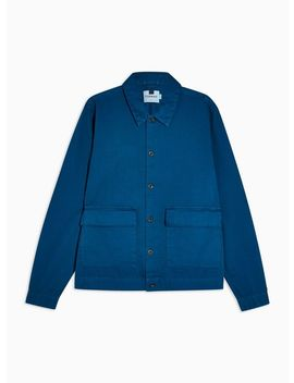 Cobalt Blue Regular Overshirt by Topman